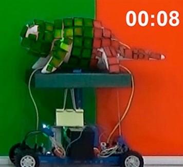 Разработан робот-хамелеон