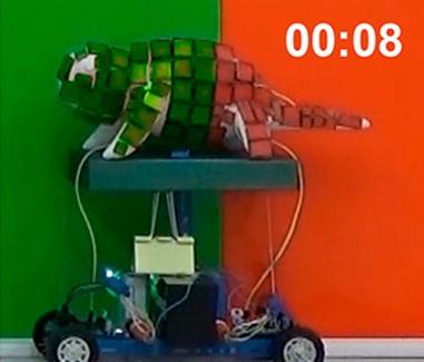 Робот-хамелеон.