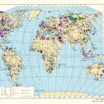 Геологическая карта мира.