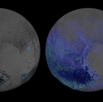 На Плутоне оказалось много воды