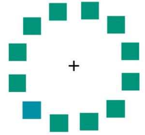 Задача состоит втом, чтобы установить «лишнюю», немного отличающуюся по цвету плитку