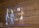 Инсталляция «Раскрась храм» в Метрополитен-музее.