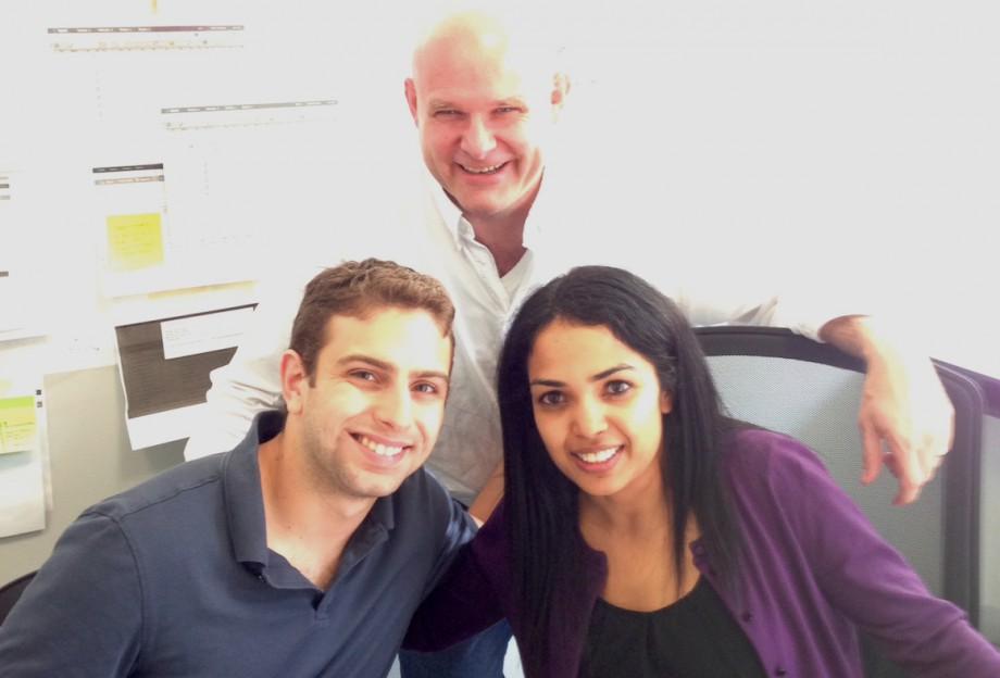 Сотрудники компании <i>Tamr</i>— Энди Палмер (Andy Palmer), Алан Вагнер (Alan Wagner) иНидхи Аггарвал (Nidhi Aggarwal).