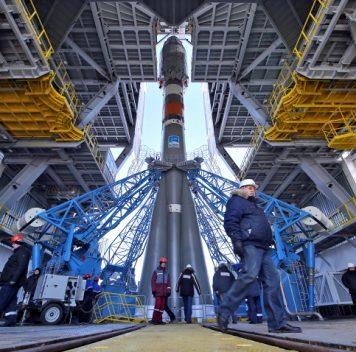 Ракета-носитель готовится кзапуску скосмодрома «Восточный»