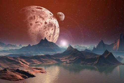 Учёные утверждают, что циркуляция чрезвычайно солёной или пресной воды надругих планетах может повлиять натемпературу поверхности.
