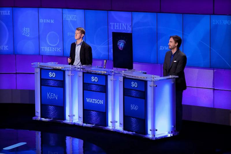 Сеть Watson компании IBM выигрывает втелевизионной игре-викторине Jeopardy!