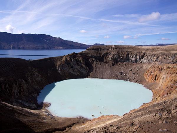 Вулкан Аскья вИсландии.