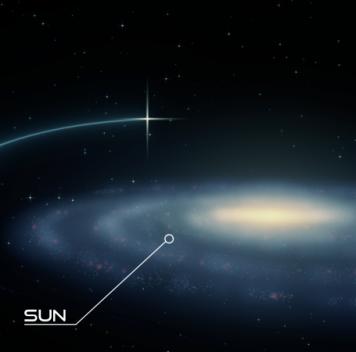Обнаружена сверхскоростная двойная звезда