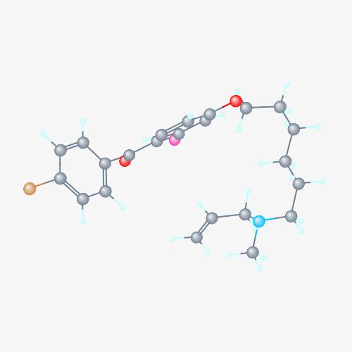 Строение молекулы Ro 48-8071.