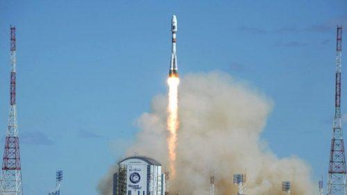 Запуск ракеты-носителя «Союз-2.1а» скосмодрома Восточный.