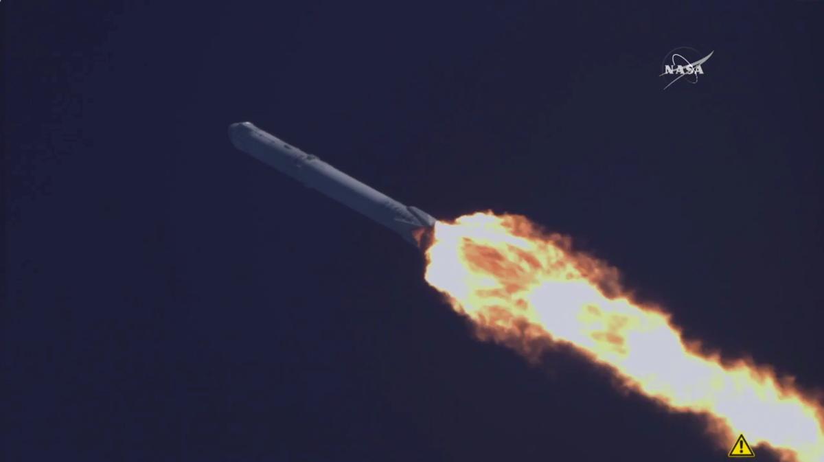 Восьмая миссия <i>SpaceX</i> по доставке груза наорбиту по контракту сНАСА.