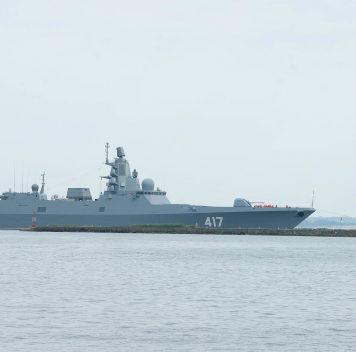 Военный флот РФ пополнится шестью фрегатами проекта 22350
