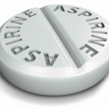 Немедленный приём аспирина снижает риск обширного инсульта