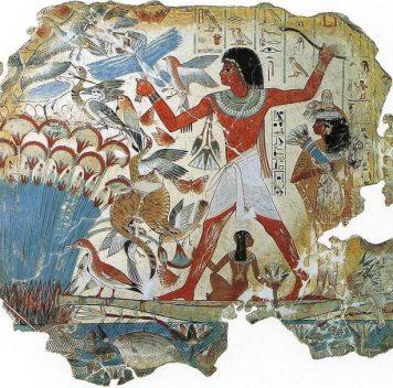 Краситель из Древнего Египта впомощь современным криминалистам