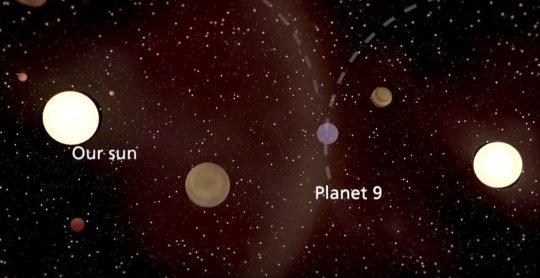 Девятая планета, вероятно, была похищена нашим Солнцем 4,5 миллиарда лет назад