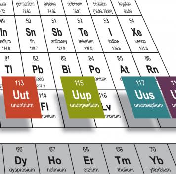 Предложены названия для четырёх новых элементов таблицы Менделеева