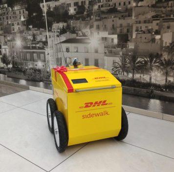 DHL разрабатывает доставочную роботележку