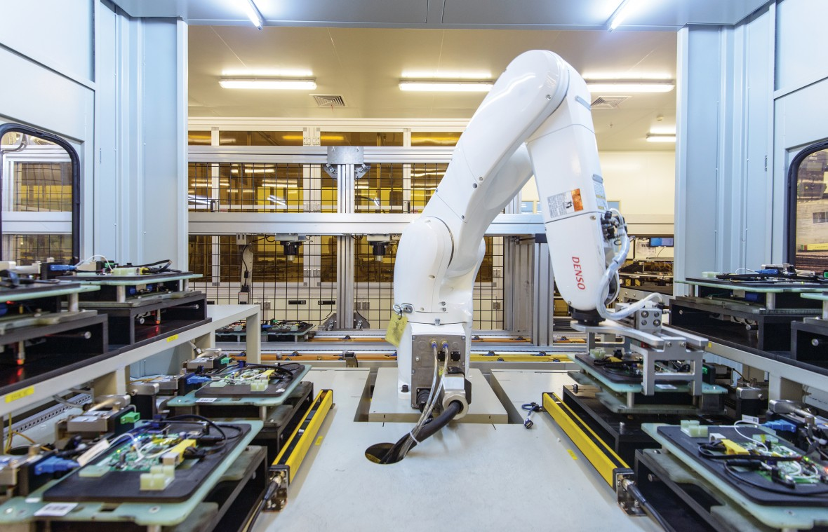 Большая часть роботов вКитае сейчас— зарубежного производства.