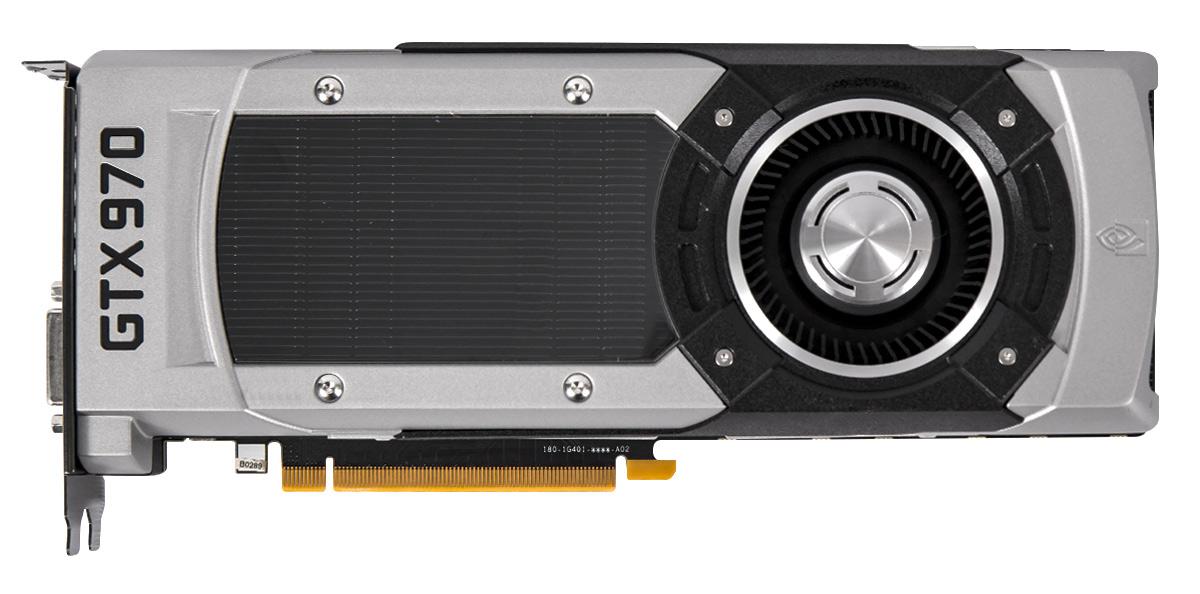 Высокопроизводительный графический адаптер NVIDIA GeForce GTX 970.