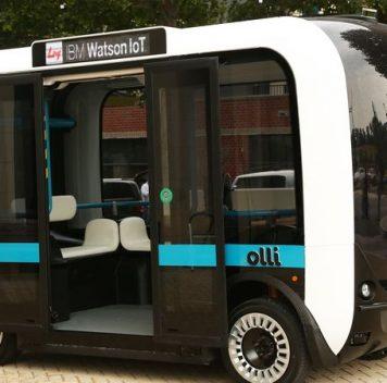 Olli— беспилотный автомобиль, скоторым можно поговорить