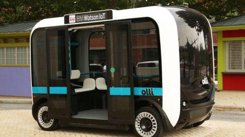 Olli— беспилотная маршрутка, которая разговаривает спассажирами