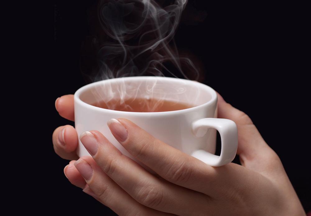 Напитки горячее 65°C могут стать причиной рака пищевода.