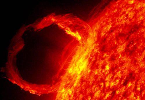 Вспышка насолнце может быть причиной геомагнитной бури