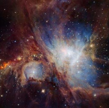 Астрономы открыли новые объекты втуманности Ориона