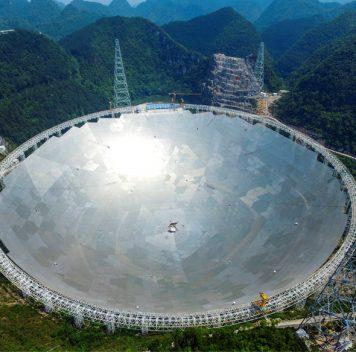 В Китае завершено строительство крупнейшего вмире радиотелескопа