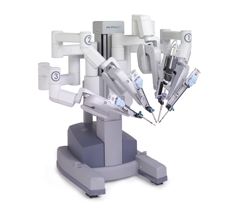 Робот-хирург Да Винчи.