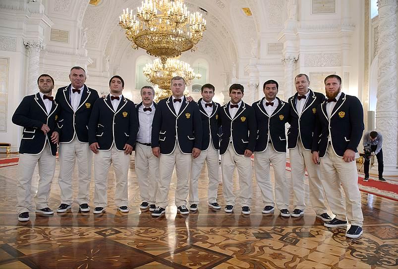Форма российской олимпийской сборной для Олимпиады вРио.
