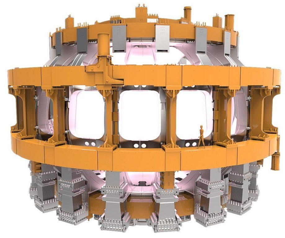 Катушка полоидального поля токамака ITER