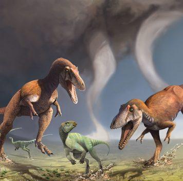 Найден новый хищный динозавр скрошечными верхними лапами