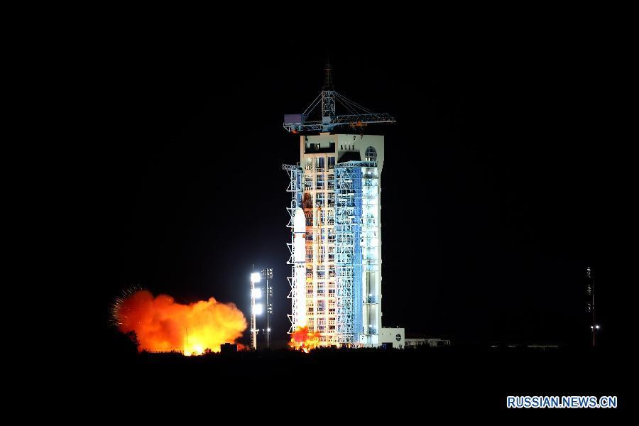 """Старт ракеты """"Чанчжэн-2Г""""."""