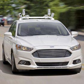 Беспилотный автомобиль Ford Fusion Hybrid.