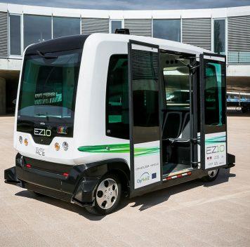 В Хельсинки тестируют наулицах автономные электроавтобусы