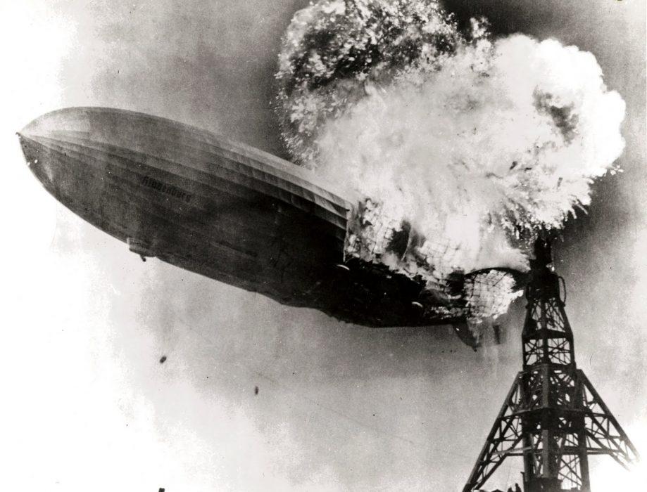 Крушение «Гинденбурга» в1937 году