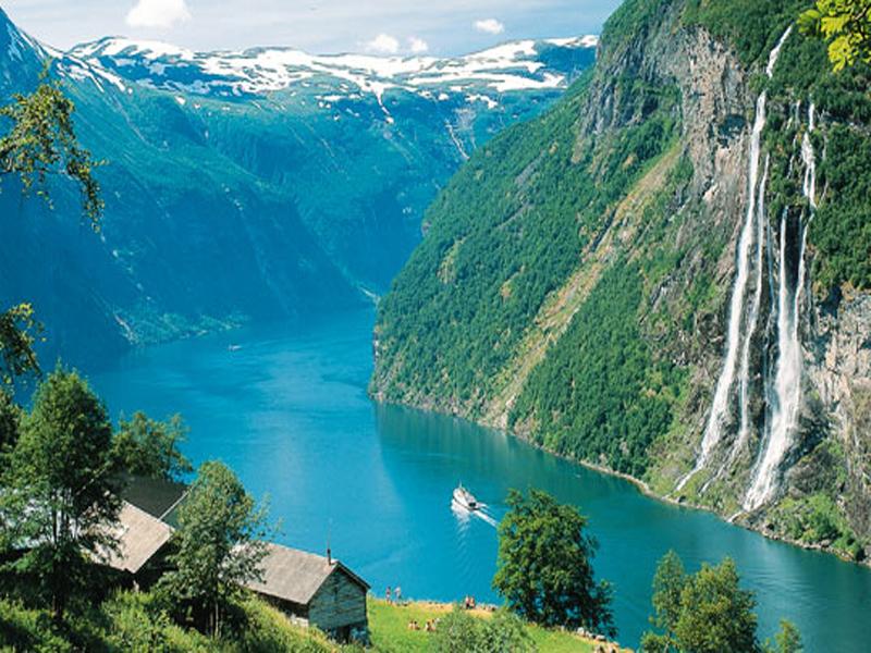 Холодное лето вНорвегии