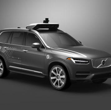 Uber иVolvo выпустят автономные автомобили