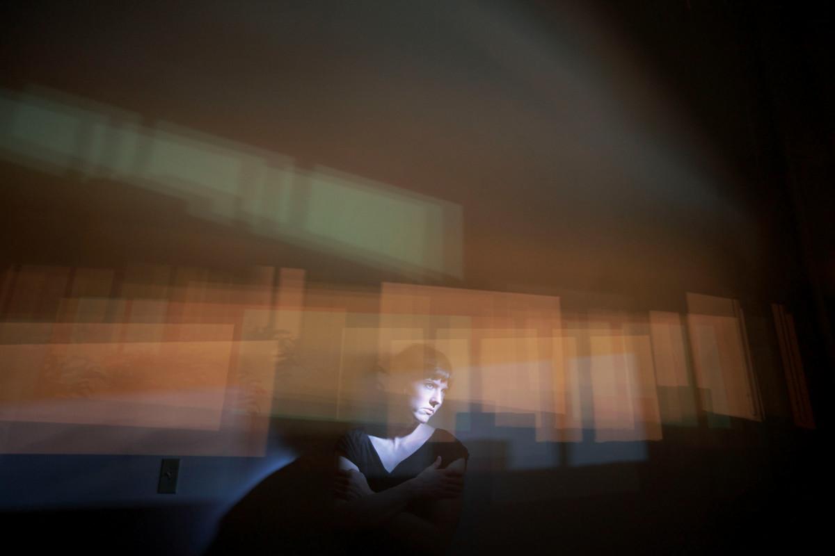 Как чувствует себя впустой комнате человек без визуального воображения?
