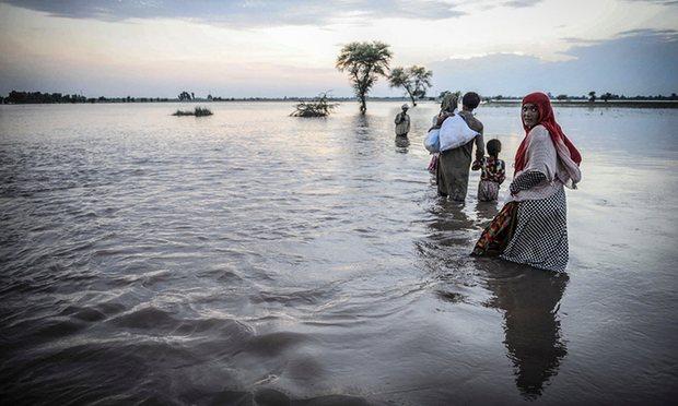 Потепление климата может привести кувеличению количества климатических беженцев.