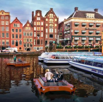Роболодки будут тестироваться вканалах Амстердама вследующем году