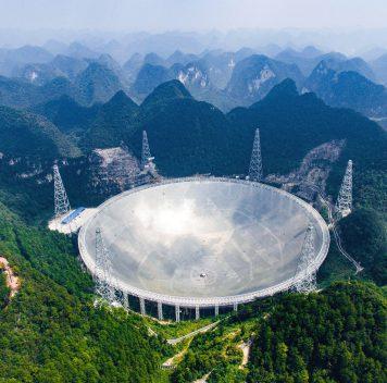 В Китае заработал крупнейший вмире радиотелескоп