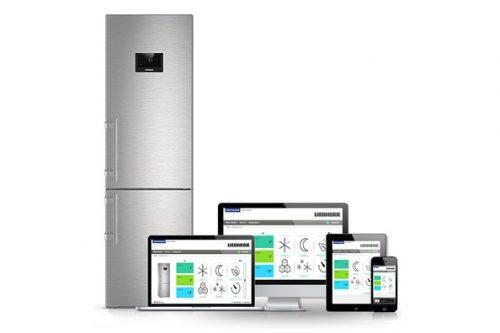 Нынешнее поколение SmartDeviceBox даёт возможность удалённо управлять настройками холодильников Либхерр, но распознавать продукты неумеет.
