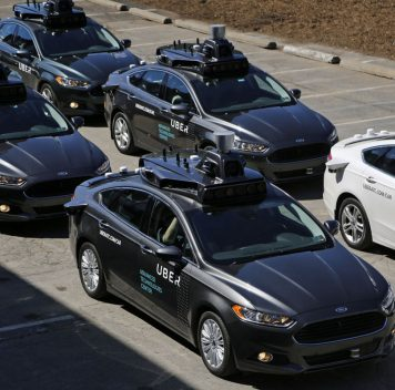 Uber запустил сервис проката беспилотных автомобилей