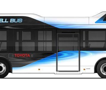 Новый водородный автобус Toyota может работать икак внешний источник питания