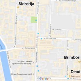 """Карта """"Ночи науки"""" в Санкт-Петербурге"""