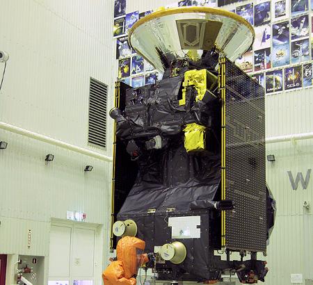 Заправка Trace Gas Orbiter. «Скиапарелли» наверху.