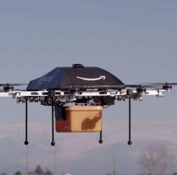 Amazon получила патент надрон сголосовым управлением