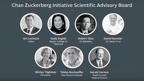 Учёный совет проекта Chan Zuckerberg Science